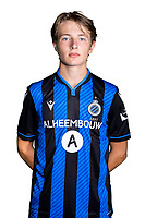 20th August 2020, Brugge, Belgium;  Romeo Vermant pictured during the team photo shoot of Club Brugge NXT prior the Proximus league football season 2020 - 2021 at the Belfius Base camp