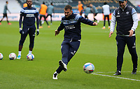 Dominic Ball of Queens Park Rangers warming up during Queens Park Rangers vs Watford, Sky Bet EFL Championship Football at The Kiyan Prince Foundation Stadium on 21st November 2020