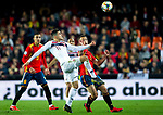 Spain's Rodrigo Moreno and Norway's Mohamed Elyounoussi  during the qualifying match for Euro 2020 on 23th March, 2019 in Valencia, Spain. (ALTERPHOTOS/Alconada)