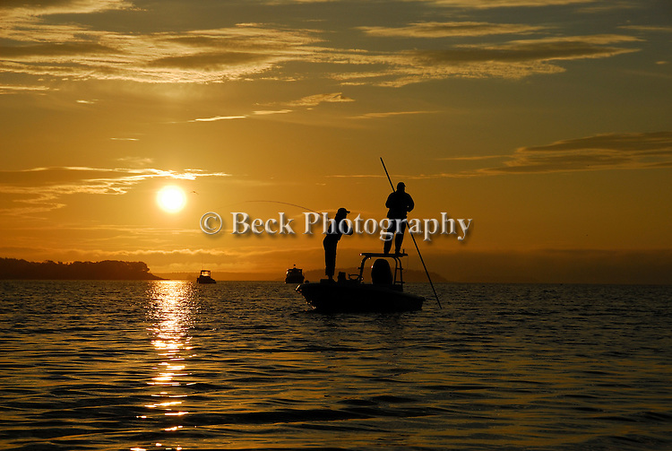 First light on Maine, Casco Bay