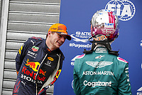 22nd May 2021; Principality of Monaco; F1 Grand Prix of Monaco, qualifying sessions;  VERSTAPPEN Max (ned), Red Bull Racing Honda RB16B, portrait and VERSTAPPEN Max (ned), Red Bull Racing Honda RB16B