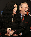 "Cher and Bob Mackie attends the Broadway Opening Night Performance of ""The Cher Show""  at the Neil Simon Theatre on December 3, 2018 in New York City."