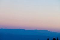 Looking north at dawn from Capitol Lake, near Snowmass, Colorado