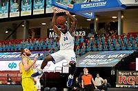 11-05-2021: Basketbal: Donar Groningen v Den Helder Suns: Groningen,  dunk Donar speler Justin Watts