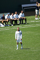 LA Galaxy midfielder (23) David Beckham during a MLS match. Toronto defeated the LA Galaxy 3-2 at the Home Depot Center Carson, California, Sunday April 13, 2008.