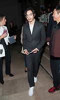 October 2 2017, Paris, France - Actor Chen Xiao arrives at the the Shiatzy Chen Show at the Paris Fashion Week Spring Summer 2017/2018. # LES PEOPLE ARRIVENT AU DEFILE 'SHIATZY CHEN' LORS DE LA FASHION WEEK DE PARIS