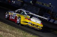 The #42 Porsche.39th Rolex 24 at Daytona, 3/4 February,2001 Daytona International Speedway  Daytona Beach,Florida,USA.©F.Peirce Williams 2001 ..