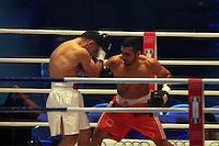 Tiran Mkrtschjani (rot) gegen Salvatore Vancardo (weiss)