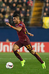Emerson of AS Roma runs with the ball during the match Villarreal CF vs AS Roma during their UEFA Europa League 2016-17 Round of 32 match at the Estadio de la Cerámica on 16 February 2017 in Villarreal, Spain. Photo by Maria Jose Segovia Carmona / Power Sport Images
