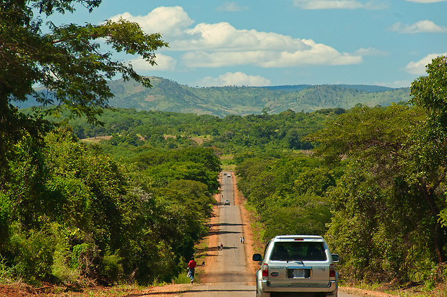 Driving the T4 Highway across Zambia