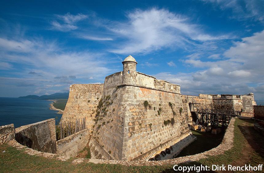 Festung Castillo El Morro (San Pedro de la Roca) Santiago de Cuba, Cuba , Unesco-Weltkulturerbe