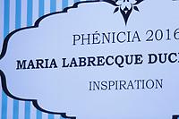 Maria Labrecque-Duchesneau<br /> <br /> <br />  au Gala Phenicia de la Chambre de Commerce LGBT du Québec, tenu au Parquet de la Caisse de Depots et Placements du Quebec, jeudi, 26 mai 2016.<br /> <br /> <br /> PHOTO : Pierre Roussel -  Agence Quebec Presse