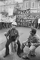- strike of the metal and mechanics worker  (Milan, 1976)<br /> <br /> - sciopero degli operai metalmeccanici (Milano, 1976)
