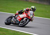 Shane Byrne (67) of Be Wiser Ducati during 2nd practice in the MCE BRITISH SUPERBIKE Championships 2017 at Brands Hatch, Longfield, England on 13 October 2017. Photo by Alan  Stanford / PRiME Media Images.