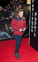 January 13 2018, PARIS FRANCE<br /> Premiere of the film Pentagon Papers at UGC Normandie Paris. Alex Lutz is present.