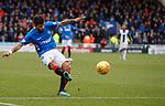 03.11.18 St Mirren v Rangers: Daniel Candeias scores