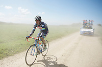 Jerome Baugnies (BEL/Wanty-Groupe Gobert) caught in the dust<br /> <br /> 33th Tro Bro Léon 2016