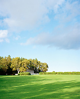 Green spaces and bright blue skies dominate in the summer months. Over 88% of Prince Edward Island is privately owned.