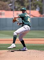 Zac Reininger - Oakland Athletics 2021 spring training (Bill Mitchell)
