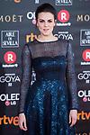 Melina Matthews attends red carpet of Goya Cinema Awards 2018 at Madrid Marriott Auditorium in Madrid , Spain. February 03, 2018. (ALTERPHOTOS/Borja B.Hojas)