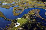 Amelia Island Plantation Golf, Florida - helicopter aerial