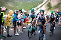 Matteo Trentin (ITA/Mitchelton-Scott) up the Col du Galibier (HC/2622m/23km@5.1%)<br /> <br /> Stage 18: Embrun to Valloire (208km)<br /> 106th Tour de France 2019 (2.UWT)<br /> <br /> ©kramon