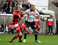 Pictured: Lee Trundle of Swansea City in action <br />