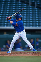 AZL Cubs 1 Zack Short (3) at bat during a rehab assignment in an Arizona League game against the AZL Angels on June 24, 2019 at Sloan Park in Mesa, Arizona. AZL Cubs 1 defeated the AZL Angels 12-0. (Zachary Lucy / Four Seam Images)