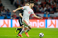 Spain's Marco Asensio (r) and Argentina's Giovani Lo Celso during international friendly match. March 27,2018. *** Local Caption *** © pixathlon<br /> Contact: +49-40-22 63 02 60 , info@pixathlon.de