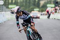 Esteban Chaves (COL/BikeExchange)<br /> <br /> Stage 5 (ITT): Time Trial from Changé to Laval Espace Mayenne (27.2km)<br /> 108th Tour de France 2021 (2.UWT)<br /> <br /> ©kramon