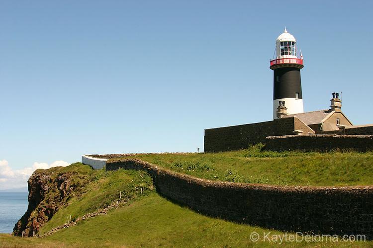 Lighthouse on Rathlin Island, Northern Ireland