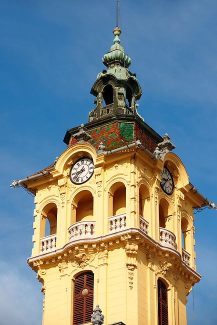 Szeged 18th century City Hall, Szechenyi Square, Hungary