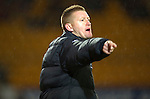 St Johnstone v Aberdeen...13.12.11   SPL .St Johnstone manager Steve Lomas.Picture by Graeme Hart..Copyright Perthshire Picture Agency.Tel: 01738 623350  Mobile: 07990 594431