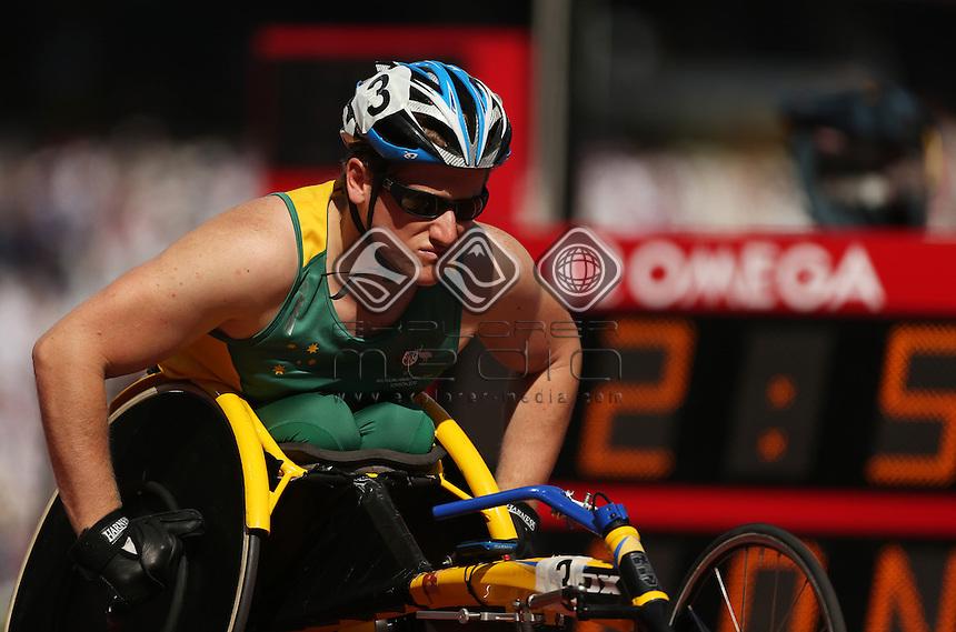 Richard Colman (AUS), Men's 800m - T53.<br /> Athletics, Olympic Stadium (Tuesday 4th Sept)<br /> Paralympics - Summer / London 2012<br /> London England 29 Aug - 9 Sept <br /> © Sport the library/Joseph Johnson