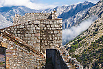 Old Fortification on the trail above Kotor, Montenegro