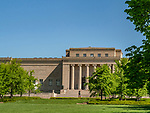 The Nelson Art Gallery is a popular destination in Kansas City, Missouri.