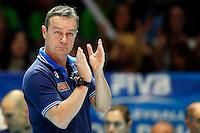 Marco Bonitta  <br /> Milano 12-10-2014 Forum Assago Mondiali <br /> Volley Women's World Championship Italy 2014 <br /> Italia <br /> Foto Insidefoto