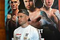 Carl Frampton during a Press Conference at the Council Chamber, Bethnal Green on 10th August 2020