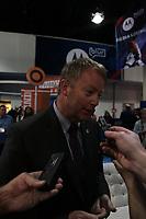 Mark Waller (NFL International)<br /> Vorstellung Logo Super Bowl XLV, Super Bowl XLIV Pressekonferenzen *** Local Caption *** Foto ist honorarpflichtig! zzgl. gesetzl. MwSt. Auf Anfrage in hoeherer Qualitaet/Aufloesung. Belegexemplar an: Marc Schueler, Alte Weinstrasse 1, 61352 Bad Homburg, Tel. +49 (0) 151 11 65 49 88, www.gameday-mediaservices.de. Email: marc.schueler@gameday-mediaservices.de, Bankverbindung: Volksbank Bergstrasse, Kto.: 52137306, BLZ: 50890000