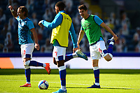 Blackburn Rovers' Lewis Holtby warms up with his team-mates<br /> <br /> Photographer Richard Martin-Roberts/CameraSport<br /> <br /> The EFL Sky Bet Championship - Blackburn Rovers v Wycombe Wanderers - Saturday 19 September 2020 - Ewood Park - Blackburn<br /> <br /> World Copyright © 2020 CameraSport. All rights reserved. 43 Linden Ave. Countesthorpe. Leicester. England. LE8 5PG - Tel: +44 (0) 116 277 4147 - admin@camerasport.com - www.camerasport.com