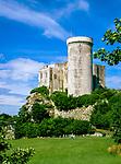 Frankreich, Normandie, Département Calvados, Falaise: die Burg Falaise, Geburtsort von Wilhelm I. von England, bekannt als Wilhelm der Eroberer, dem ersten Normannenkönig von England | France, Normandy, Département Calvados, Falaise: Castle Falaise, birthplace of William the Conqueror