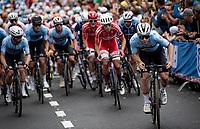 Remco Evenepoel (BEL/Deceuninck-Quick Step) up the Smeysberg<br /> <br /> Elite Men World Championships - Road Race<br /> from Antwerp to Leuven (268.3km)<br /> <br /> UCI Road World Championships - Flanders Belgium 2021<br /> <br /> ©kramon