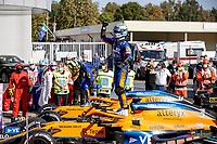 3 Daniel Ricciardo AUS, McLaren F1 Team, 4 Lando Norris GBR, McLaren F1 Team, F1 Grand Prix of Italy at Autodromo Nazionale Monza on September 12, 2021 in Monza, Italy. Photo by HOCH ZWEI Monza Italy *** 3 Daniel Ricciardo AUS, McLaren F1 Team , 4 Lando Norris GBR, McLaren F1 Team , F1 Grand Prix of Italy at Autodromo Nazionale Monza on September 12, 2021 in Monza, Italy Photo by HOCH ZWEI Monza Italy