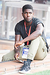 FC Barcelona's Samuel Umiti during Copa del Rey (King's Cup) Final between Deportivo Alaves and FC Barcelona at Vicente Calderon Stadium in Madrid, May 27, 2017. Spain.<br /> (ALTERPHOTOS/BorjaB.Hojas)