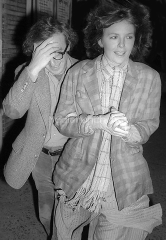 Woody Allen and Diane Keaton 1978<br /> Photo By Adam Scull/PHOTOlink/MediaPunch