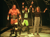 Triple H XPAC Stephanie McMahon 2000<br /> Photo By John Barrett/PHOTOlink
