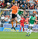 09/05/2010   Copyright  Pic : James Stewart.sct_js009_dundee_utd_v_hibernian  .::  DAMIAN CASALINUOVO GETS ABOVE IAN MURRAY ::  .James Stewart Photography 19 Carronlea Drive, Falkirk. FK2 8DN      Vat Reg No. 607 6932 25.Telephone      : +44 (0)1324 570291 .Mobile              : +44 (0)7721 416997.E-mail  :  jim@jspa.co.uk.If you require further information then contact Jim Stewart on any of the numbers above.........