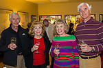 """Bill and Lerlene Brown and Elaine and Dan Carrick during the Reno Magazine """"Bubbles Tasting"""" event at Total Wine in Reno on Friday night, February 9, 2018."""