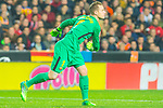Goalkeeper Marc-Andre Ter Stegen of FC Barcelona click off the ball during the La Liga 2017-18 match between Valencia CF and FC Barcelona at Estadio de Mestalla on November 26 2017 in Valencia, Spain. Photo by Maria Jose Segovia Carmona / Power Sport Images
