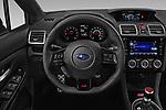 Car pictures of steering wheel view of a 2021 Subaru WRX-STI - 4 Door Sedan Steering Wheel